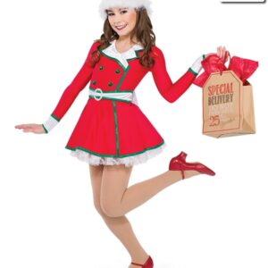 H528  A Christmas Town Themed Dance Costume