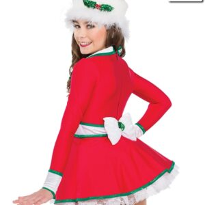 H528  Christmas Town Themed Dance Costume Back