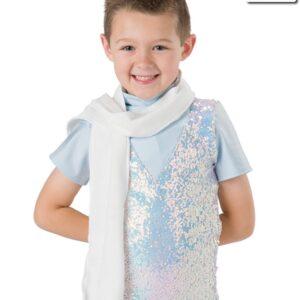 H537 A  Winter Wonderland Fleece Scarf Dance Costume Accessory