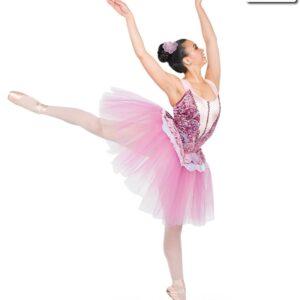 H545  Royal Suite Mid Length Sugar Plum Fairy Ballet Tutu
