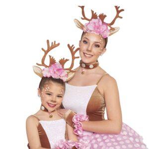 H551  Prancer Reindeer Christmas Inspired Performance Character Dance Costume