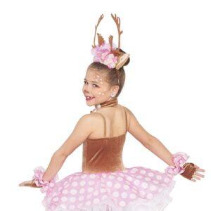 H551  Prancer Reindeer Christmas Inspired Performance Character Dance Costume Back