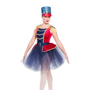 H558 1776 Soldier Christmas Inspired Performance Character Ballet Tutu