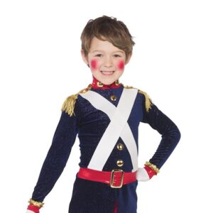 H559  On The March Soldier Character Boys Dance Top A