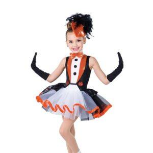 H566  Penguin Dance Sequin Christmas Inspired Performance Character Dance Costume