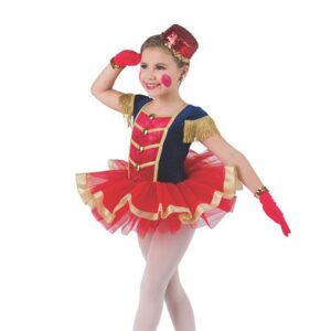 H570  On The March Soldier Christmas Inspired Performance Character Ballet Tutu