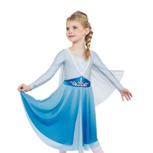 H579  Into The Unkown Frozen Elsa Inspired Performance Character Dance Costume
