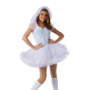 H580Y  Like Its Christmas Sequin Velvet Christmas Inspired Performance Dance Costume