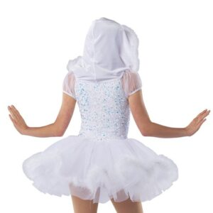 H580Y  Like Its Christmas Sequin Velvet Christmas Inspired Performance Dance Costume Back A