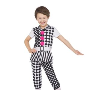 H582  Under The Big Top Clown Character Guys Christmas Inspired Dance Costume