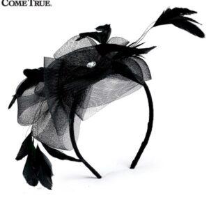 H69  A Fascinator Headband Dance Costume Accessory