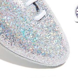 Hologram Jazz Shoe Detail