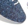 Navy Glitter Jazz Shoe Detail