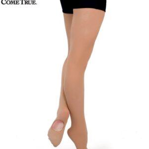 R T02  A Convertable Recital Tights Dance Costume Accessory Tan