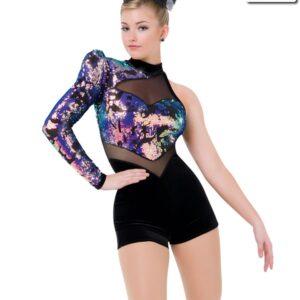 S196  Plot Twist Competition Dance Costume