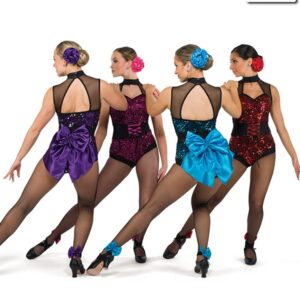 S252  Something More Sequin Competition Dance Leotard Group
