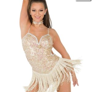 S254  I Am What I Am Performance Competition Sequin Dance Dress A