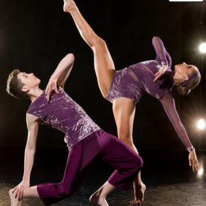 S261  Ending Contemporary Competition Performance Dance Leotard