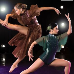 S269  Hold On Contemporary Competition Performance Dance Leotard