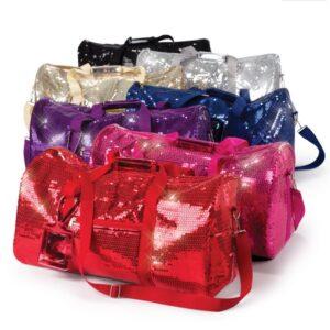 S D01S D01  Sequin Duffel Bag All