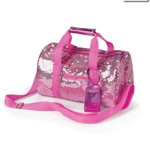 Small Sequin Duffel Bag