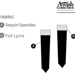 Sequin Spandex - Mitts 2