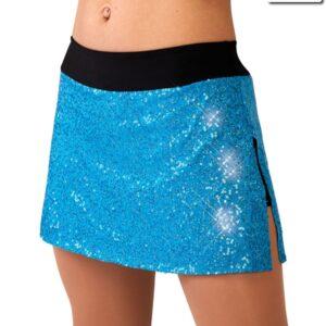 Sequin Spandex - Slim Skirt