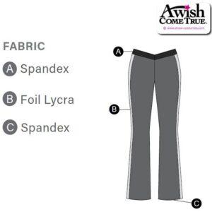 T1738 Customisable Cheer DanceV Waist Side Striped Pants