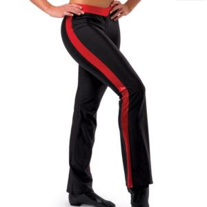 T1738 Vwaist Cheer Team Pants Red