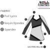 T1752 Fierce Customise Cheer Team Dress