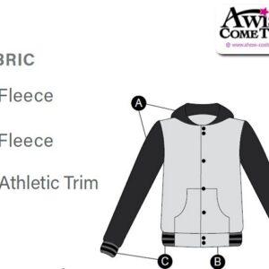 T1890 Varsity Cheer Team Customisable Jacket