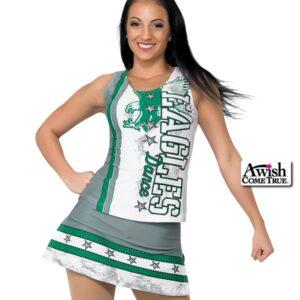 T1919  Liberty Cheer Dance Tank Top Kelly
