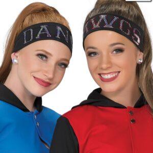 T1935  Drifit Cheer Team Dance Headband