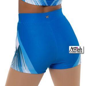 T2021  Endurance Cheer Dance Hot Pants Back