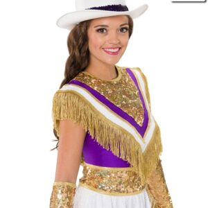 T2064  Legacy Overlay Cheer Team Gold Side