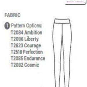 T2084 Customisable Ambition Ultra Impress Cheer Team Foil Leggings