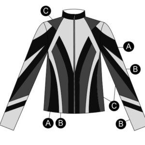 T2097  Endurance Ultra Impress Dryfit Jacket Cheer Team Silhouette