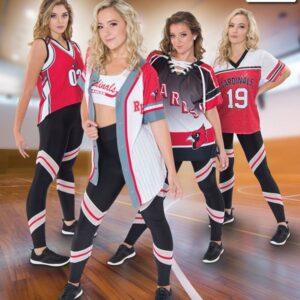T2123  Baseball Shirt Jersey Cheer Team Truecolors A