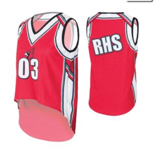 T2128  Basketball Jersey Mesh Cheer Team Truecolors Back