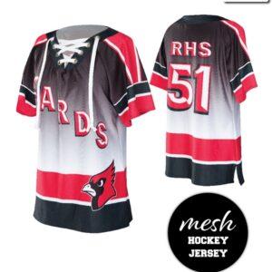 T2132  Hockey Jersey Mesh Shirt Cheer Team Truecolors
