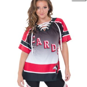 T2134  Hockey Jersey Dryfit Shirt Cheer Team Truecolors Front