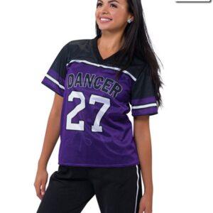 T2136  Football Shirt Mesh Cheer Team Truecolors Front
