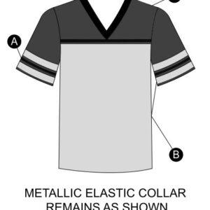 T2137  Football Shirt Dryfit Cheer Team Silhouette