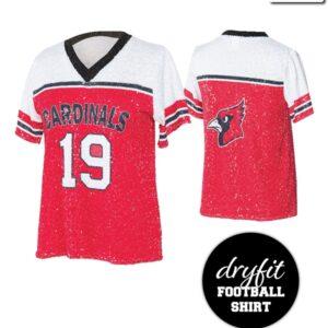 T2137  Football Shirt Dryfit Cheer Team Truecolors
