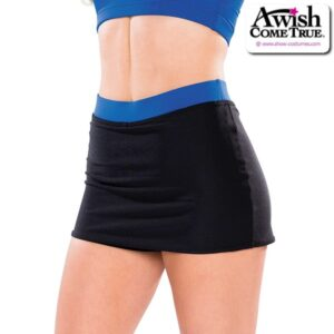 T2179  All Star Cheer Team Dry Fit Skirt
