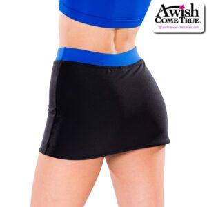 T2179  All Star Cheer Team Dry Fit Skirt Back