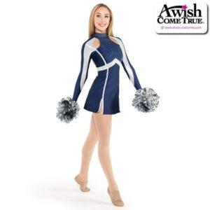 T2185  Rookie Cheer Pom Dance Dress Navy