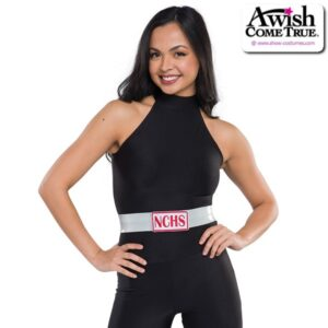 T2188 A  Belt With Patch Dance Team Accessory