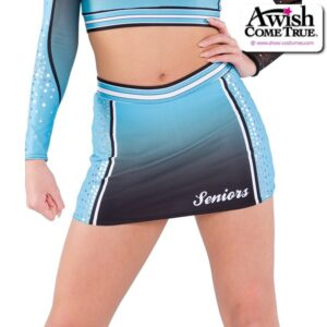 T2196  Wave Cheer Team Dry Fit Skirt