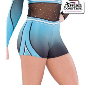 T2198  Wave Cheer Team Dry Fit Hot Pants